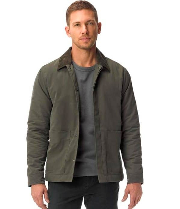 olive quilted league jacket buck mason sale
