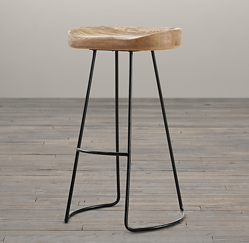 restoration hardware stool home decor