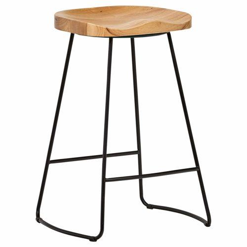 rivet bar stool home decor