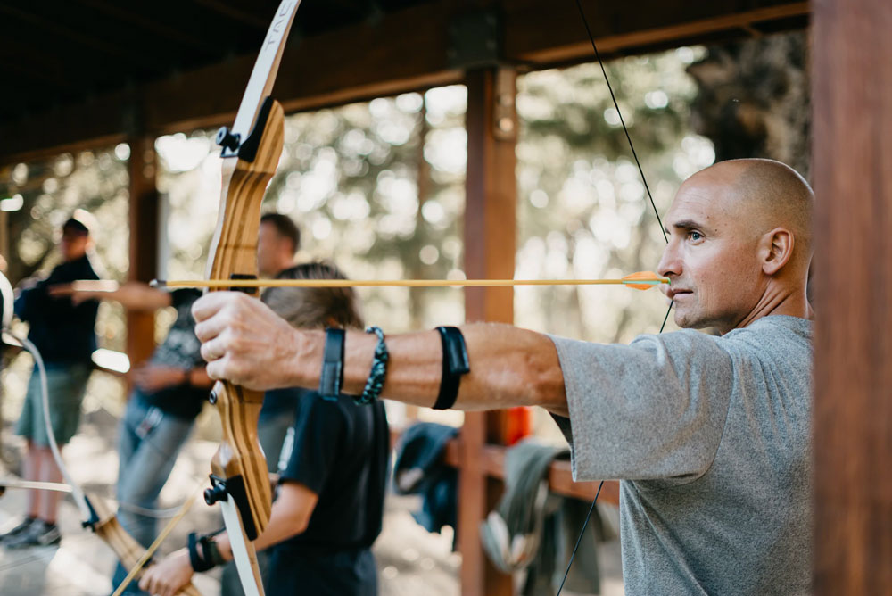 bachelor party ideas archery