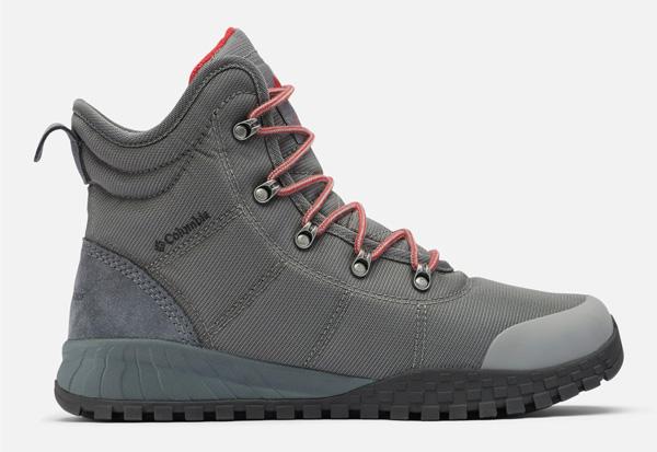 gray columbia winter boot