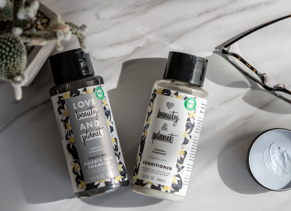 love beauty planet sulfate free shampoo and conditioner