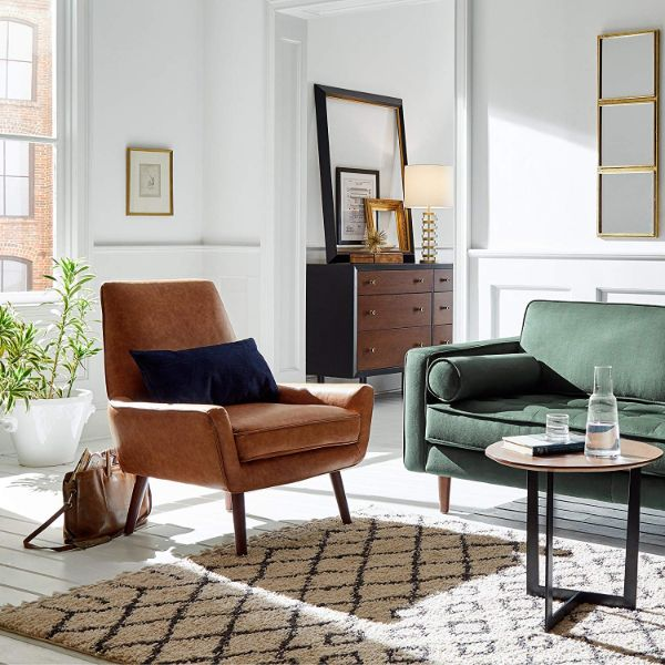 rivet jaime accent chair intentional apartment
