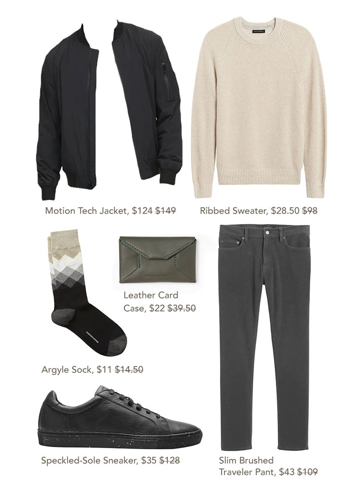banana republic sale outfit 2