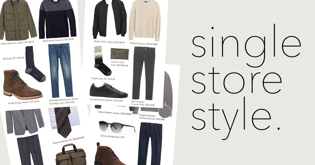 Single Store Style: 4 Outfits Made from the Extra 50% Off Sale Section of Banana Republic