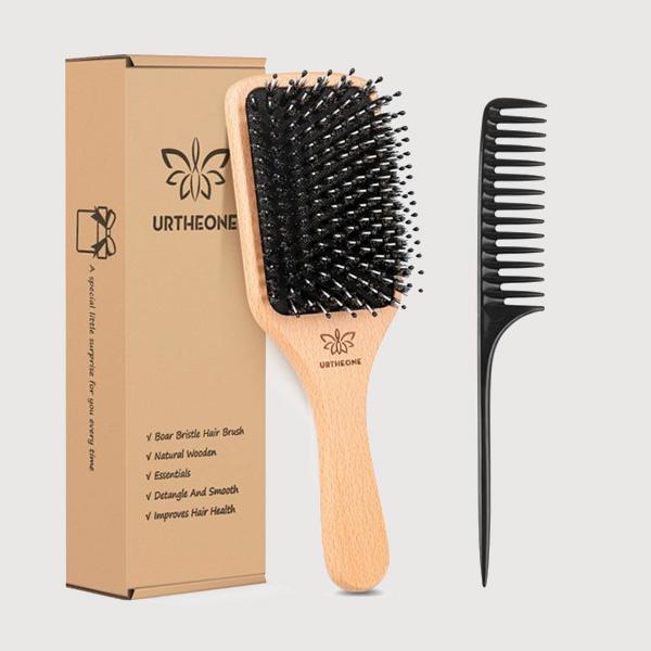 urtheone boar bristle brush men hair products