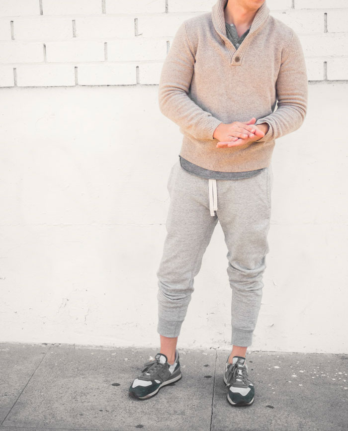 pull over sweater with sweatpants