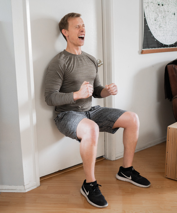 best home work out wall sit