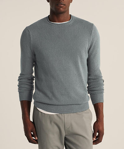 beachy crew sweater abercrombie