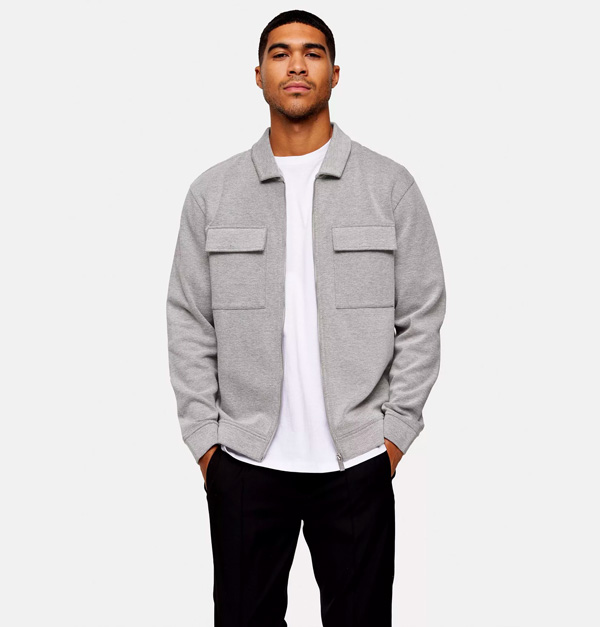topman twill shacket comfortable clothes