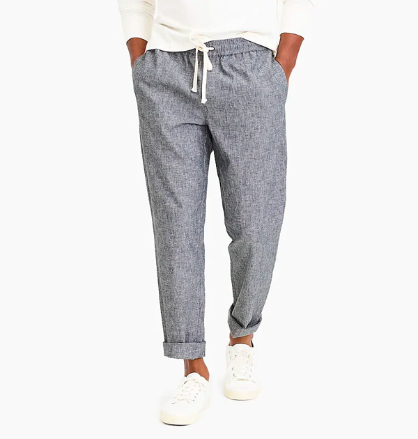 jcrew factory drawstring pants comfortable clothes
