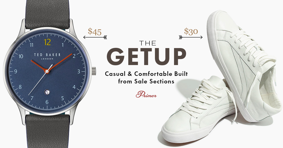 The Getup: Casual & Comfortable Built from Sale Sections