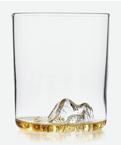 whiskey glass huckberry