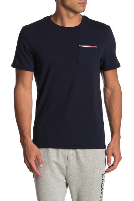 lacoste pocket knit tee comfortable clothes