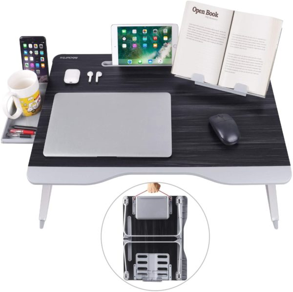 laptop-bed-table-work-from-home-space