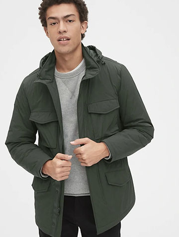 hybrid utility jacket mens spring jacket