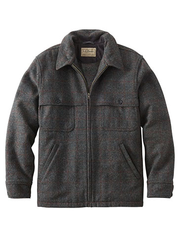 llbean jac shirt mens spring jackets