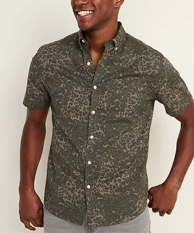 printed everyday short sleeve old navy deals