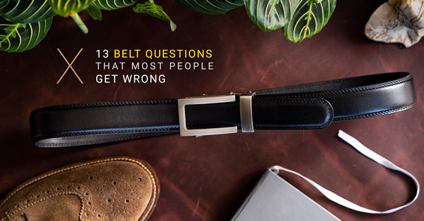 The 13 Belt Questions That Most People Get Wrong