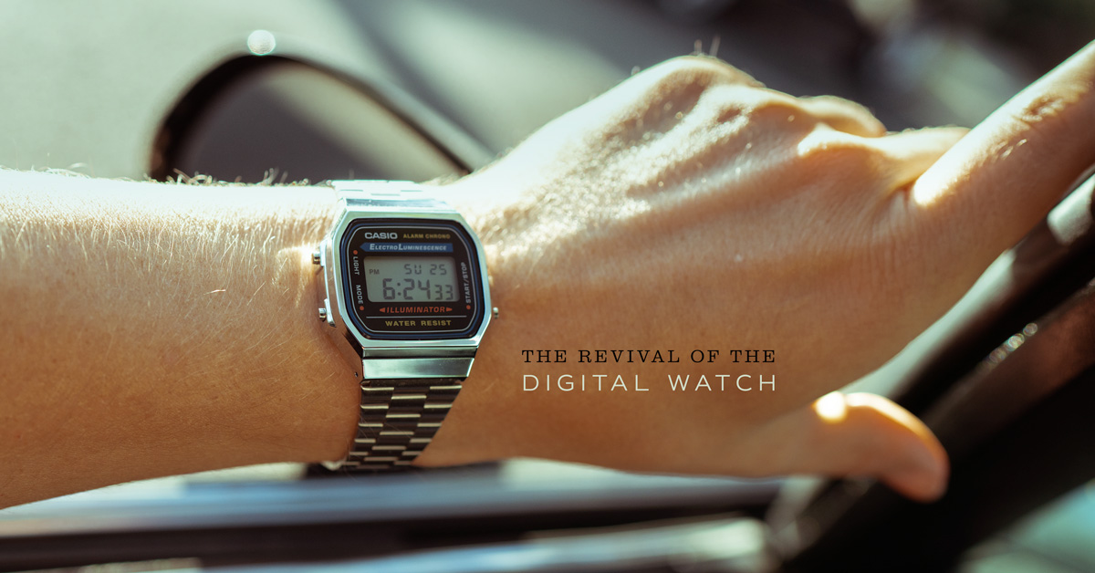 The Revival of the Digital Watch