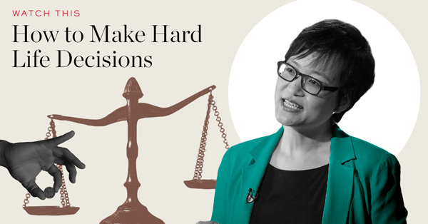 Watch: How to Make Hard Life Decisions