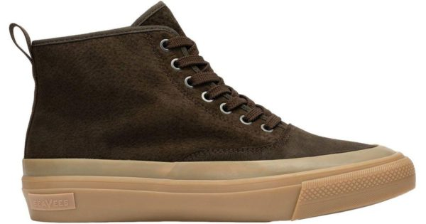 seavees mariner dark brown boot sneaker shoe