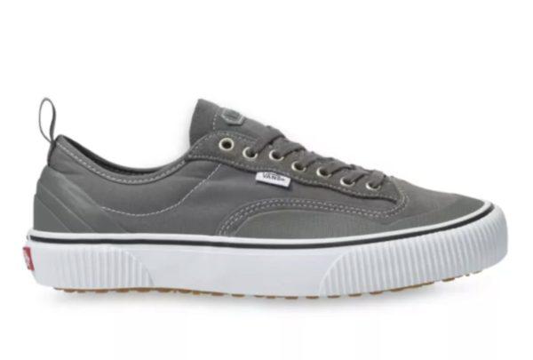 vans low top grey sneaker shoe
