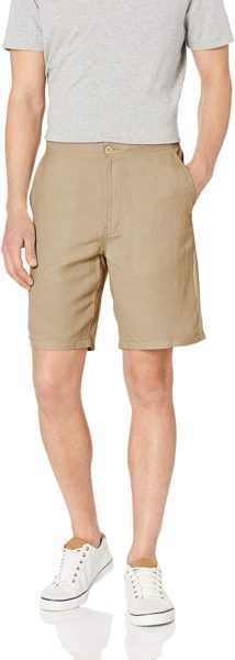 amazon essentials linen short amazon big style sale.jpg