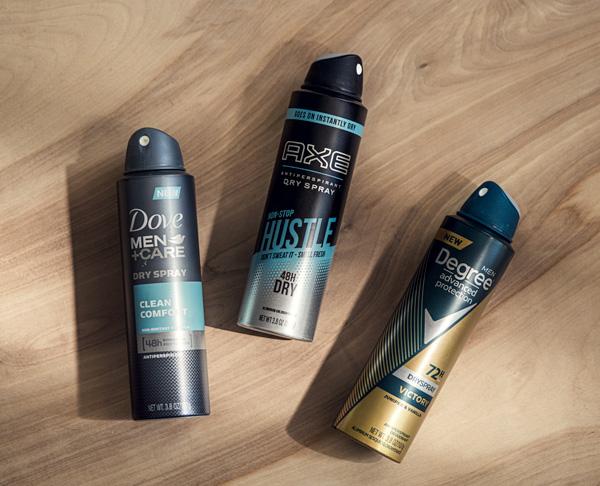 dry spray antipirspirant