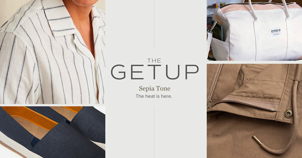 The Getup: Sepia Tone