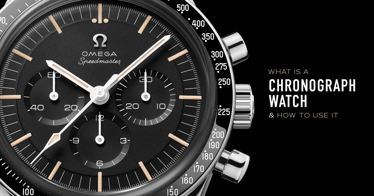 What is a Chronograph Watch and How Do You Use It?