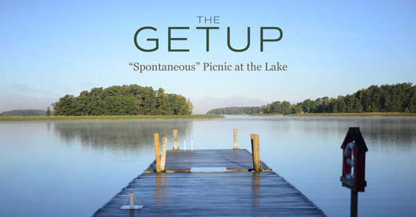 "The Getup: ""Spontaneous"" Picnic at the Lake"