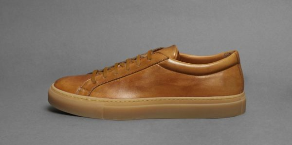 archibald calfskin gum sole sneaker shoe