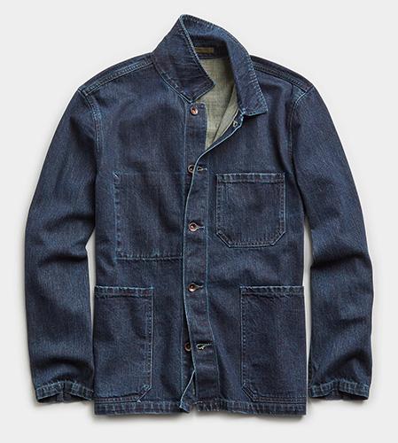 denim chore coat