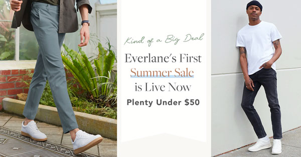 Everlane's First Summer Sale is Live Now, Plenty Under $50