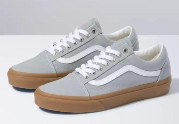 vans old skool gum sole sneaker shoes