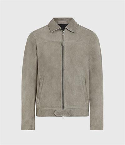 all saints suede jacket