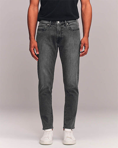 abercrombie slim taper jeans deals