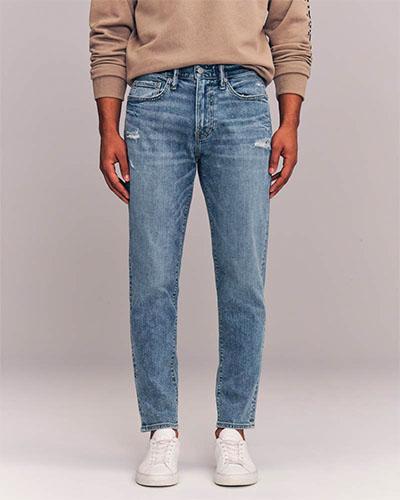 abercrombie slim taper jeans