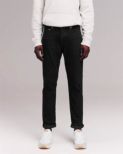 abercrombie athletic skinny jeans