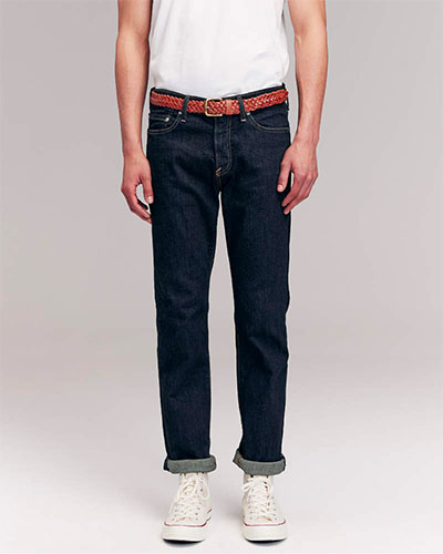 abercrombie straight jeans deals