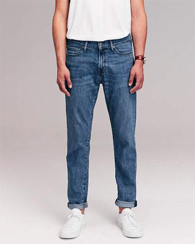 abercrombie athletic jeans deals