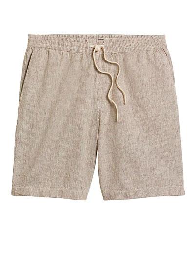 banana republic linen cotton short