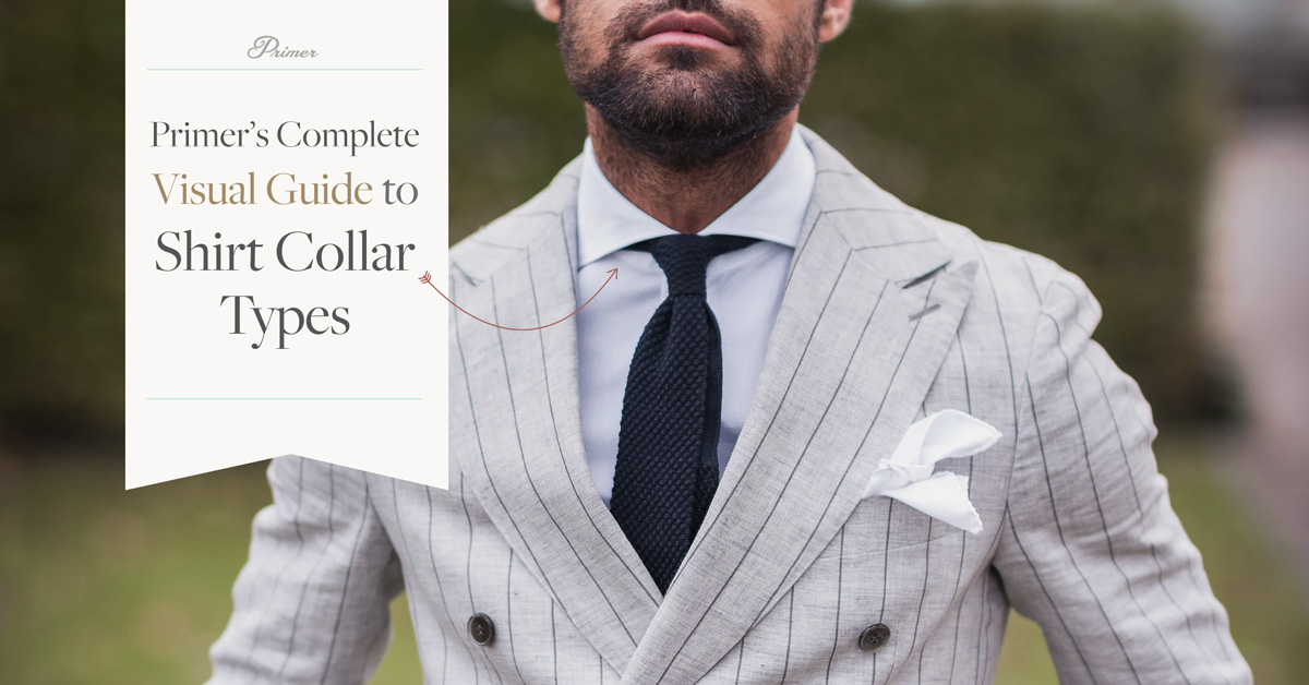 Shirt Collar Types: Primer's Complete Visual Guide
