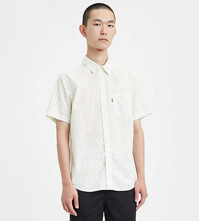 levis one pocket shirt