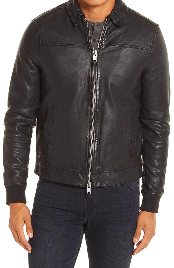 leather jacket nordstrom sale