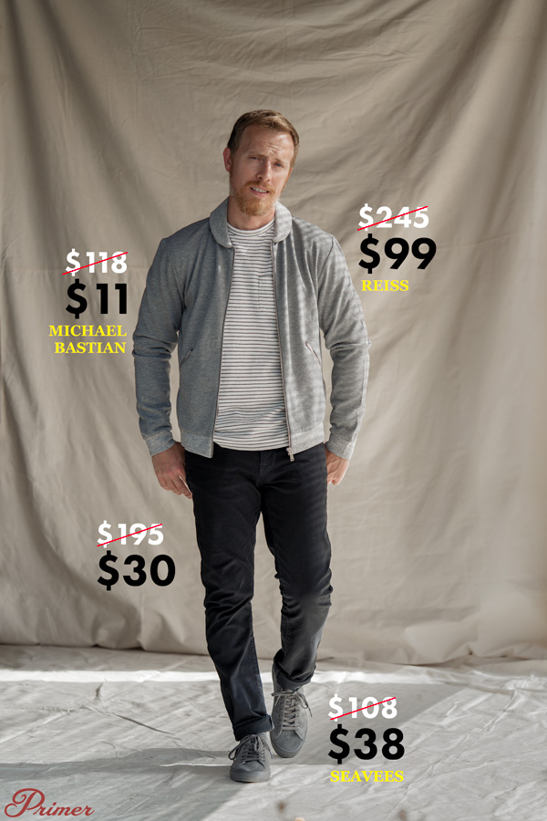 nordstrom rack men's designer fashion outfit