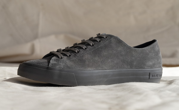 suede gray sneakers