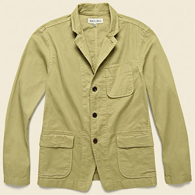 stag provisions twill sack jacket