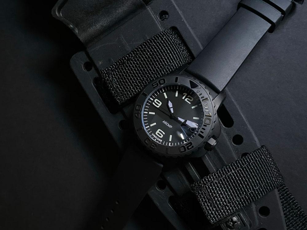 undone carbon watches